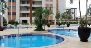 Hospedagem no Promenade Thermas Residence em Caldas Novas