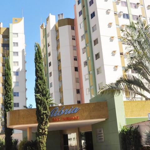 Imagem representativa: Apartamento de 2 quartos com parque aquatico